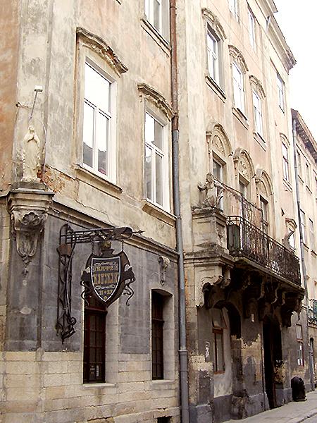 Budynek przy ul. Ormiańskiej 13 we Lwowie, w którym mieściło sie Muzeum Ormiańskie (Fot. Jurij Smirnow)