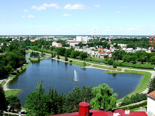 Współczesny widok Poniewieza/Panevëzys (Fot. ds-lands.com)