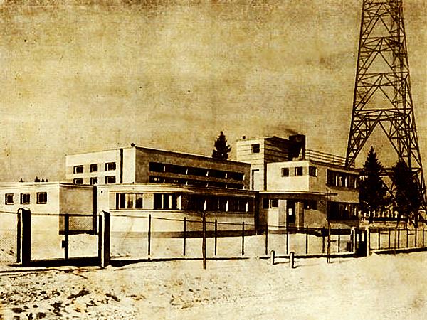 Stacja nadawcza Radia Lwów (Fot. historiaradia.neostrada.pl)