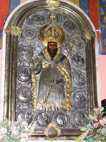 Obraz św. Grzegorza Oświeciciela Armenii (Fot. Jurij Smirnow)