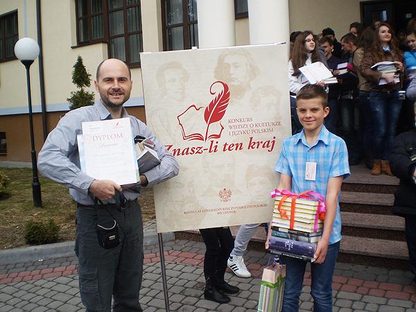 """V Konkurs Wiedzy o Języku i Kulturze Polskiej """"Znasz-li ten kraj?"""" 2013"""