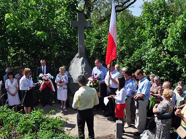 Upamiętnienie Powstańców Styczniowych w Żytomierzu