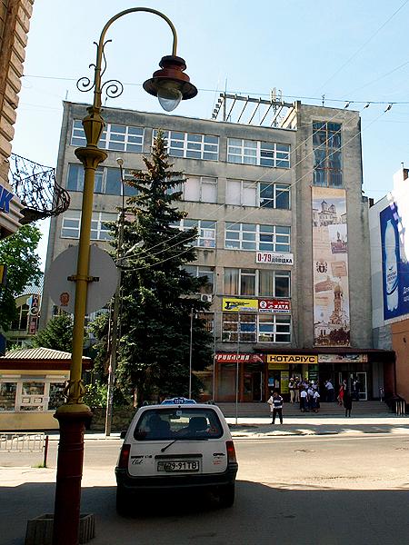 Gmach, w którym mieści się siedziba Centrum Kultury Polskiej i Dialogu Europejskiego (Fot. Maria Basza)