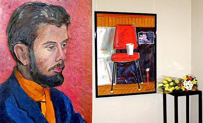 Wystawa obrazów Mariona Ilku