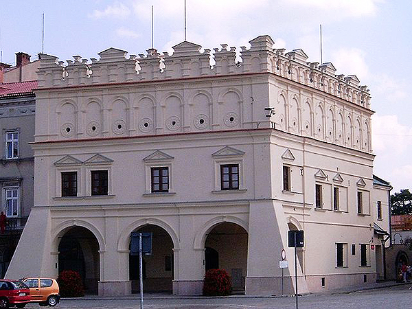 Kamienica Orsettich w Jarosławiu (Fot. wikipedia.org.pl)