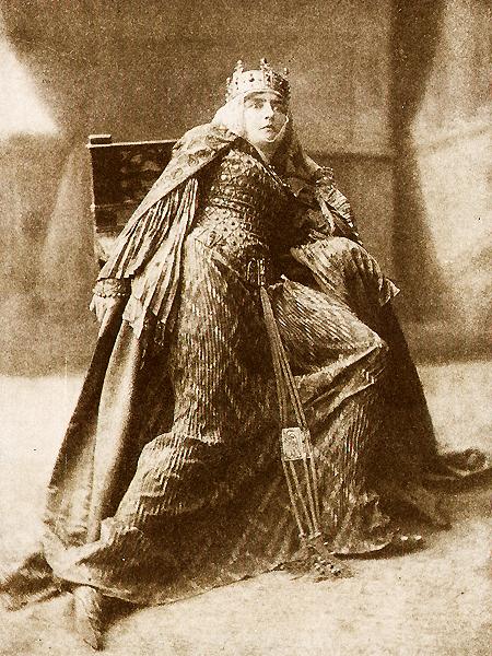 Jadwiga Mrozowska jako Lady Makbet
