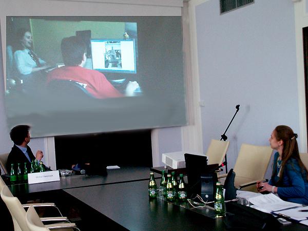 Prezentacja Kuriera Galicyjskiego (Fot. Maria Basza)