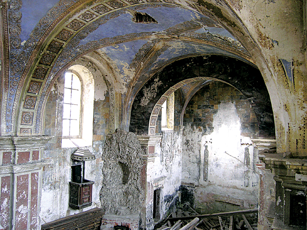 Wnętrze kościoła ormiańskiego z wieku XVIII (Fot. Dmytro Antoniuk)