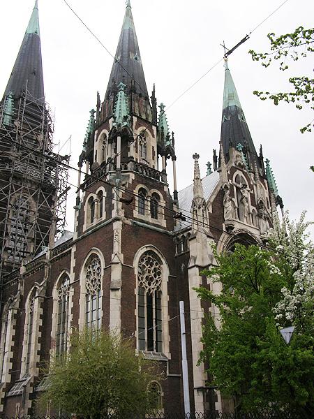 Kościół św. Elżbiety. Cz. III