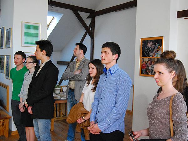 Uczestnicy wystawy (Fot. Konstanty Czawaga)