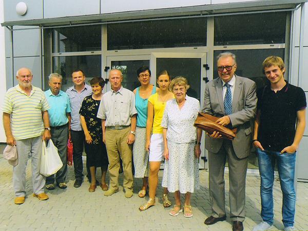 Członkowie Katolickiego Uniwersytetu Trzeciego Wieku (Fot. archiwum LUTW)