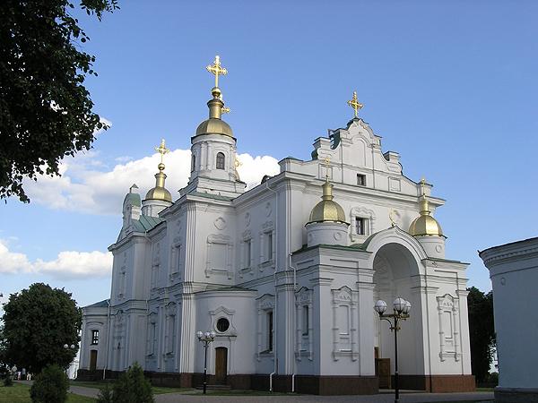 Katedra Uspeńska, odbudowana w 2003 roku (Fot. Dmytro Antoniuk)