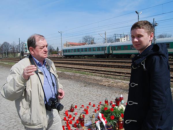 Stanisław Szarzyński (od lewej) i Eugeniusz Sało (Fot. Konstanty Czawaga)