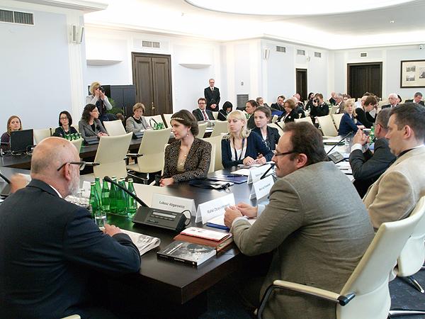 Przedstawiciele mediów polskich na Ukrainie (Fot. Maria Basza)