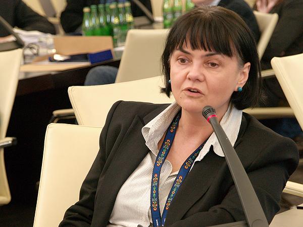 Prezes FPPnW Olga Iwaniak (Fot. Maria Basza)