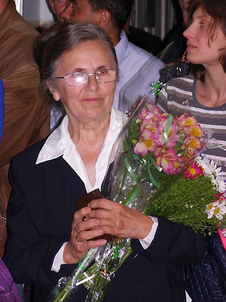 Nauczycielka geografii Czesława Geron (Fot. Krzysztof Szymański)