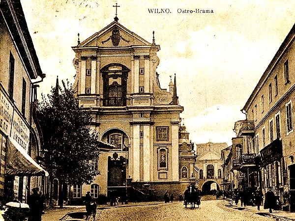 Wilno. Ostra Brama, 1912 (Fot. michaliszki.blogspot.com)