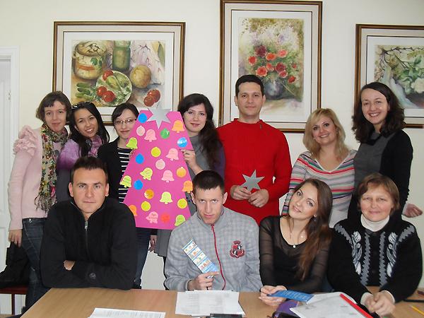 Boże Narodzenie z uczniami (Fot. archiwum autorki)