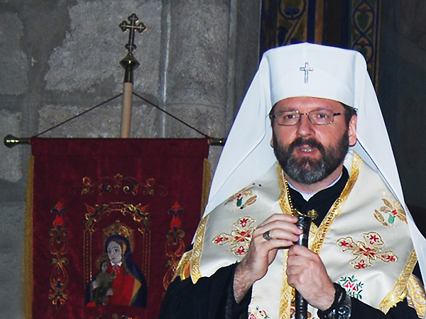 Wizyta abpa Światosława Szewczuka w Polsce