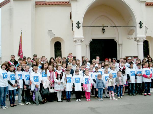 Uczestnicy Festiwali Teatrzyków dziecięcych w stryju AD 2013. (Fot. Maria Szymańska)