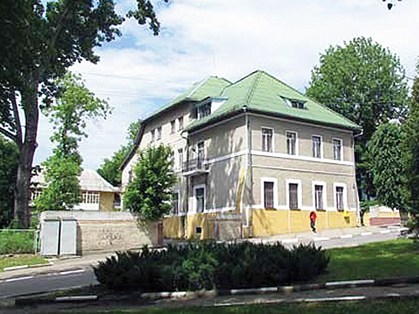 Współczesny budynek poczty (Fot. archiwum Bogdana Janiewicza)