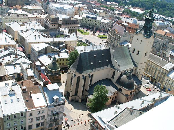 Bazylika Metropolitalna Katedra p.w. Wniebowzięcia Najświętszej Maryi Panny we Lwowie (Fot. Maria Basza)