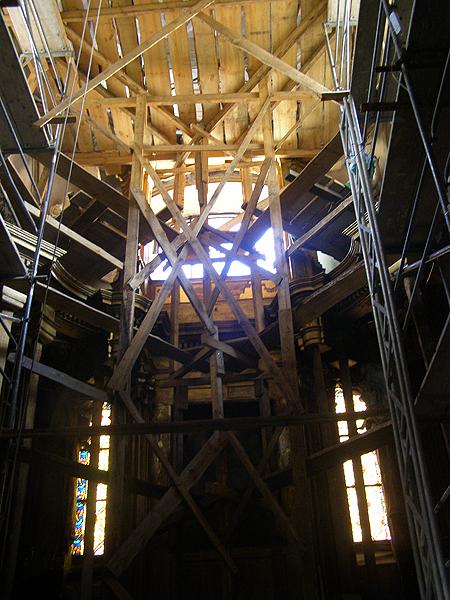 Renowacja kaplicy Wisniowieckich w katedrze lwowskiej (Fot. Jurij Smirnow)