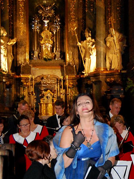 Łucja Czatnecka – sopran (Fot. Konstanty Czawaga)