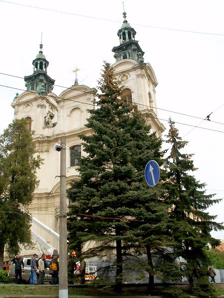 Niezwrócony kościół św. Marii Magdaleny we Lwowie (Fot. Maria Basza)