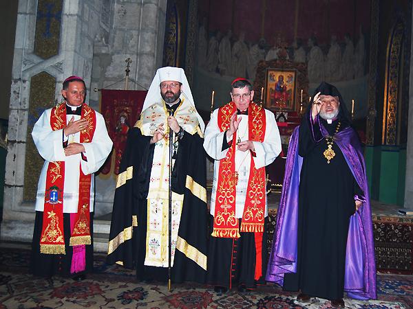 Wizyta kardynała Kocha we Lwowie