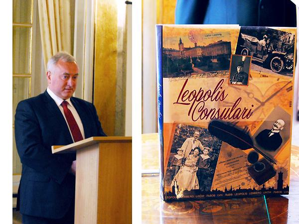 Od lewej: ambasador Ukrainy w RP Markijan Malski (Fot. Konstanty Czawaga)