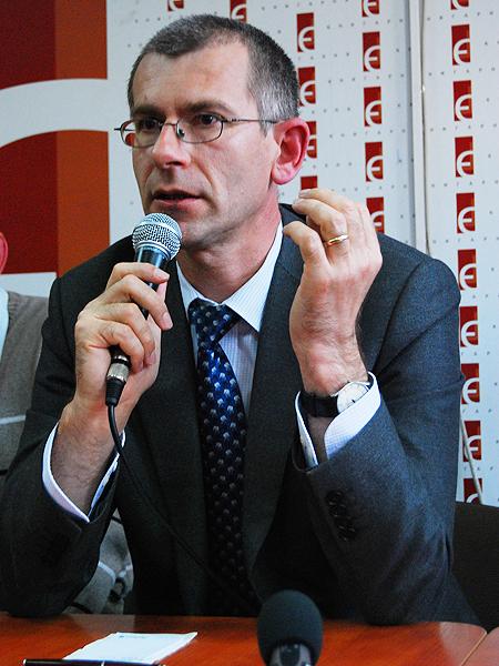 Grzegorz Motyka (Fot. Konstanty Czawaga)