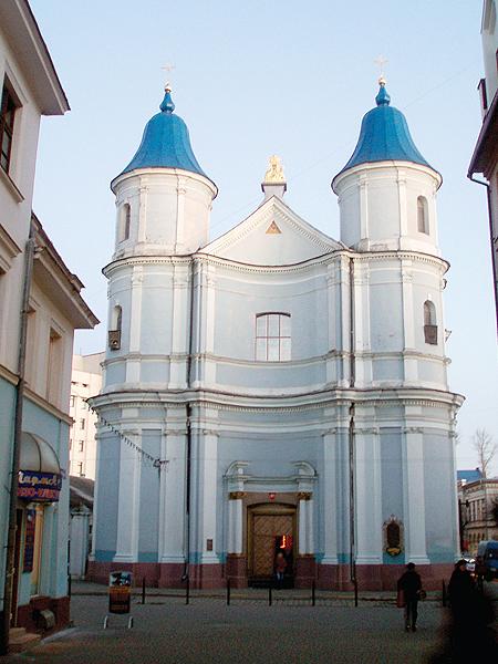 Świątynia parafialna Ormian stanisławowskich