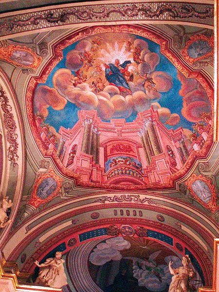 Cenne barokowe freski pędzla Jana Soleckiego (Fot. Jurij Smirnow)