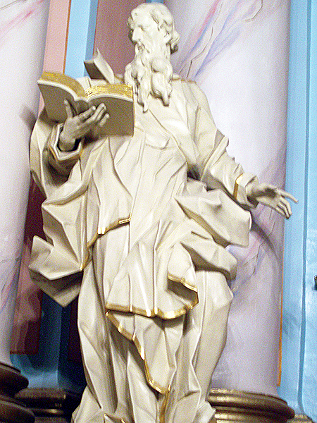 XVIII - wieczna figura barokowa (Fot. Jurij Smirnow)