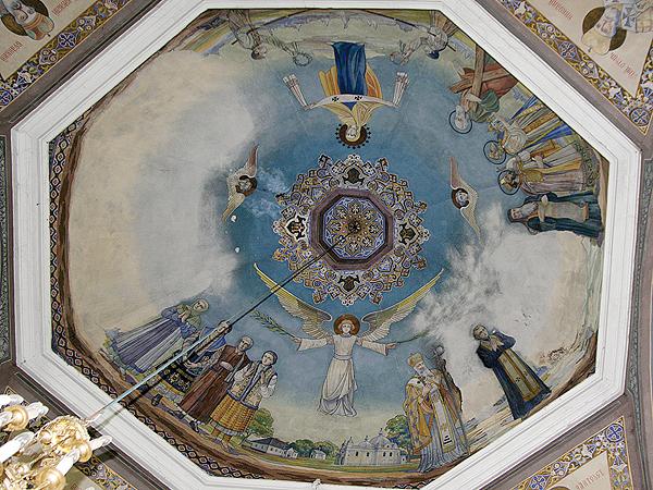 Malowidła w cerkwi Narodzenia Matki Boskiej (Fot. Dmytro Antoniuk)