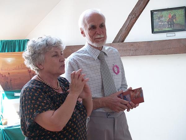 Irena Strilciw i Jerzy Komorowski (Fot. Maria Basza)