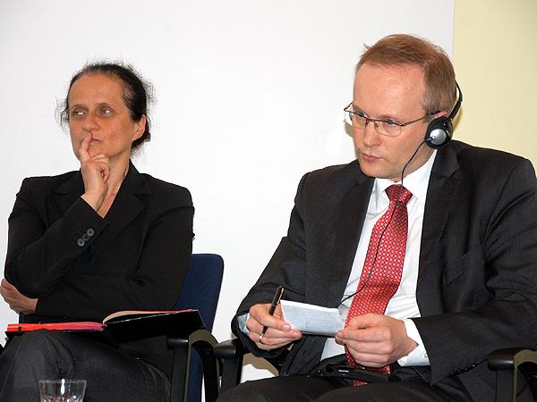 Bogumiła Berdychowska i Łukasz Kamiński (Fot. Piotr Kosiewski)