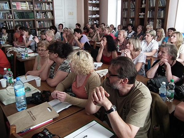 Podczas obrad (Fot. Krzysztof Szymański)