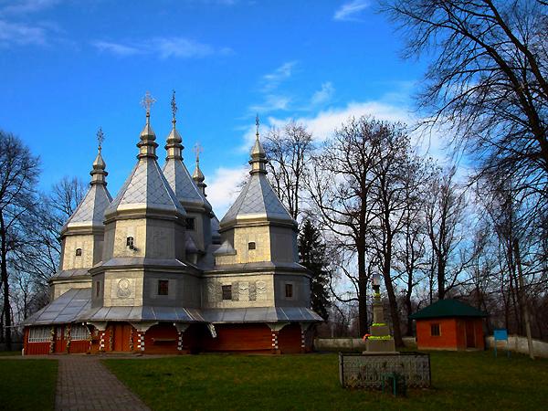 Cerkiew Narodzenia NMP we wsi Werbiąż Niżny (Fot. archiwum UNESCO)