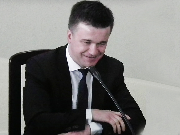 Maciej Trzeciak (Fot. Krzysztof Szymański)