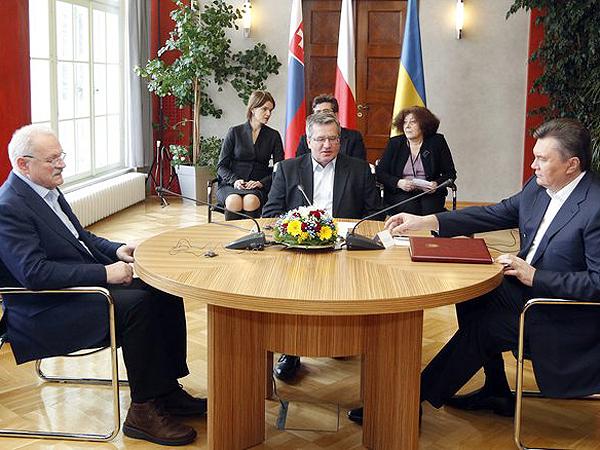 Komorowski: Janukowycz mówił w Wiśle o rozwiązaniu problemu Tymoszenko