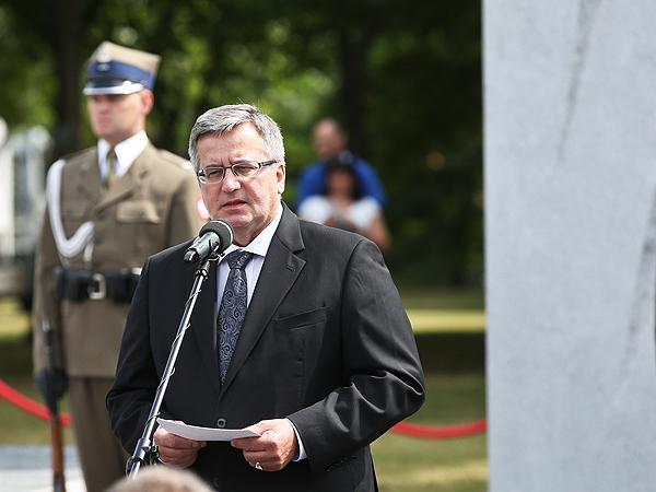 Bronisław Komorowski, prezydent RP (Fot. PAP/Rafał Guz)