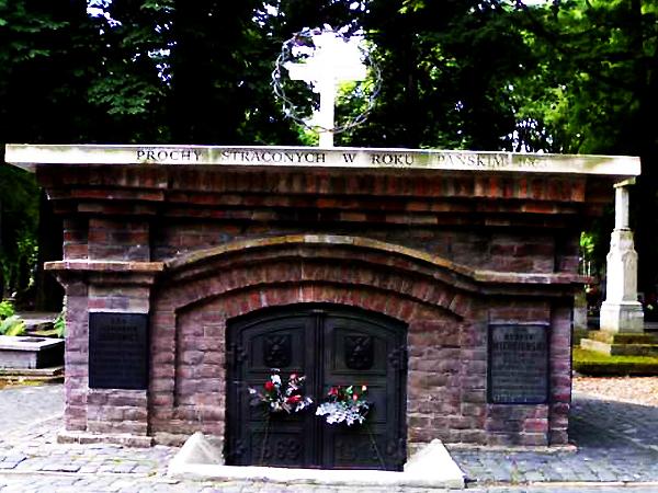 W 1916 r. prochy Kazimierza Bogdanowicza i innych powstańców przeniesiono na cmentarz przy ul. Lipowej w Lublinie (Fot. nieobecni.com.pl)