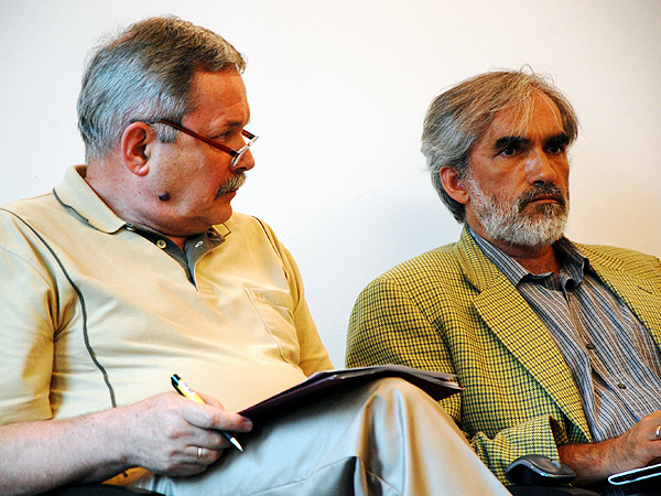 Myrosław Marynowycz i Jarosław Hrycak (Fot. Piotr Kosiewski)