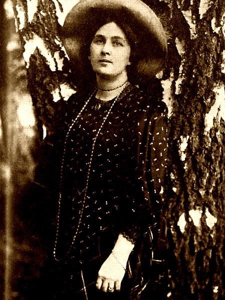 Maryla Wolska – poetka okresu Młodej Polski i matka Beaty Obertyńskiej (Fot. www.lwow.com.pl)