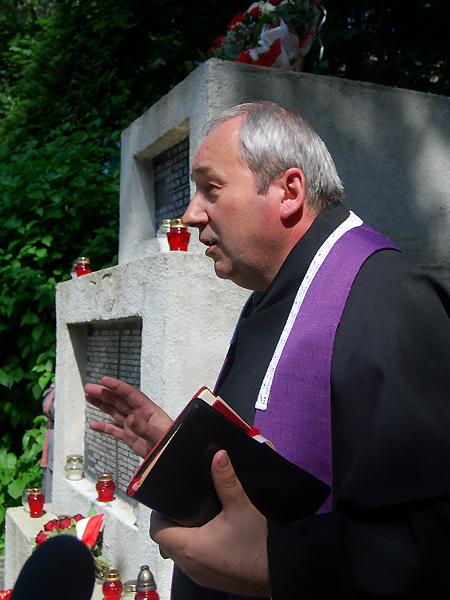 O. Władysław Lizun OFM Conv. (Fot. Konstanty Czawaga)