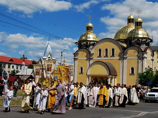 Dwa Jubileusze Chrztu na Ukrainie