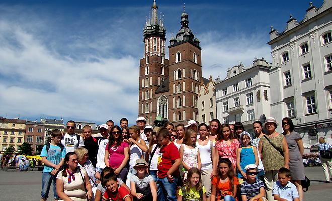 Młodzież z Czerniowiec w Polsce