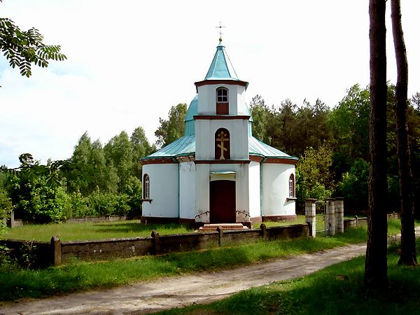 Cerkiew Eliasza Klimowicza w Starej Grzybowszczyźnie (Fot. skyscrapercity.com)